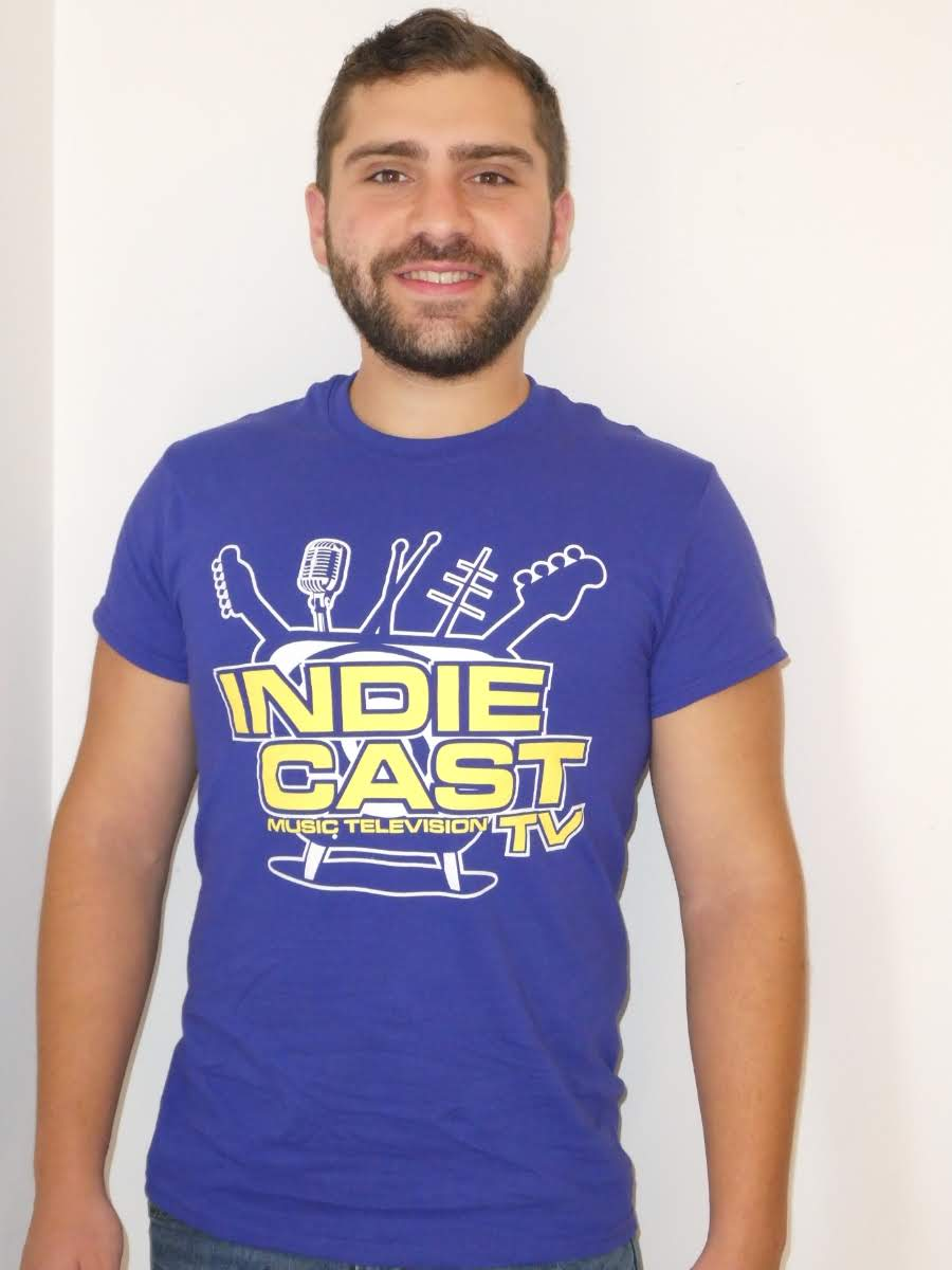 IndieCast TV Logo T-Shirt