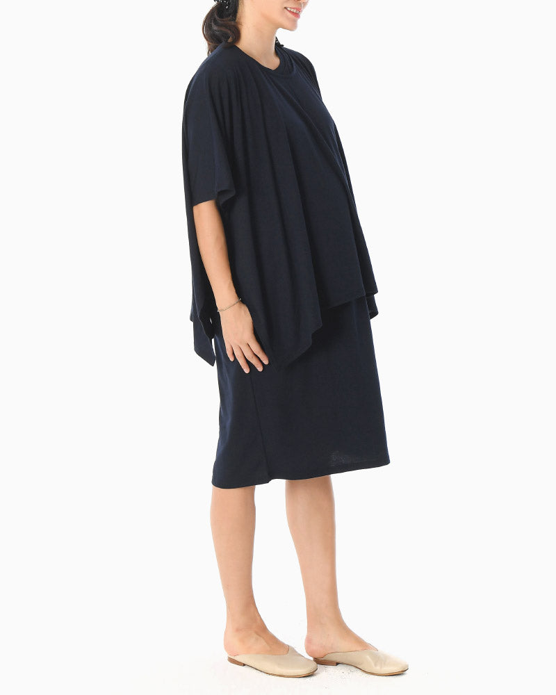 PONCHO 2-PIECE DRESS