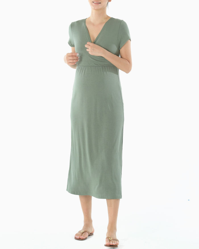 JERSEY NURSING DRESS #2