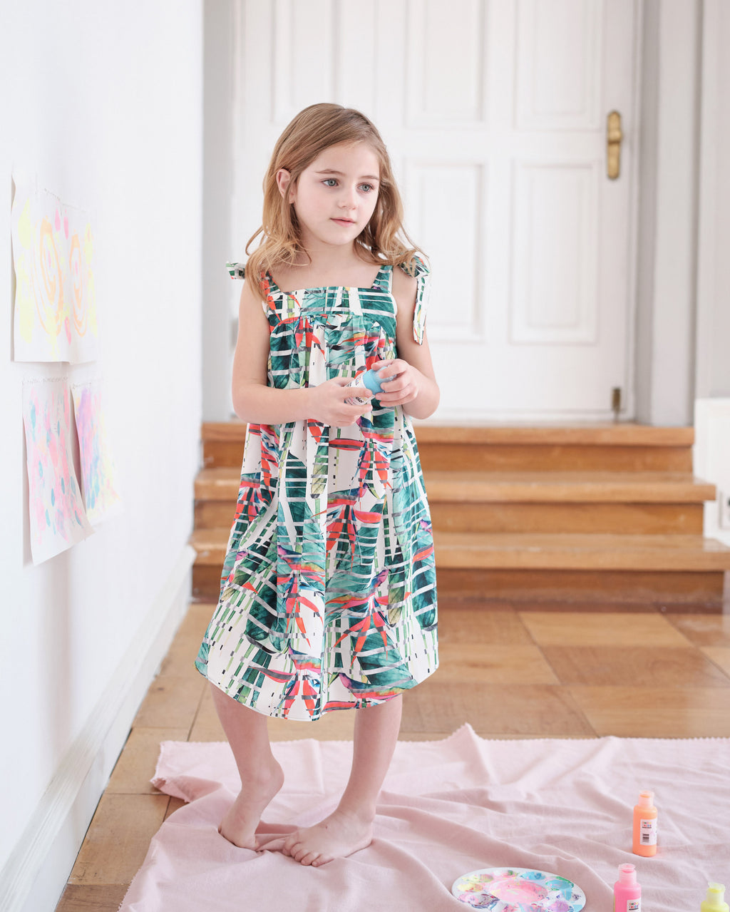 MELLIE DRESS & CLIP SET