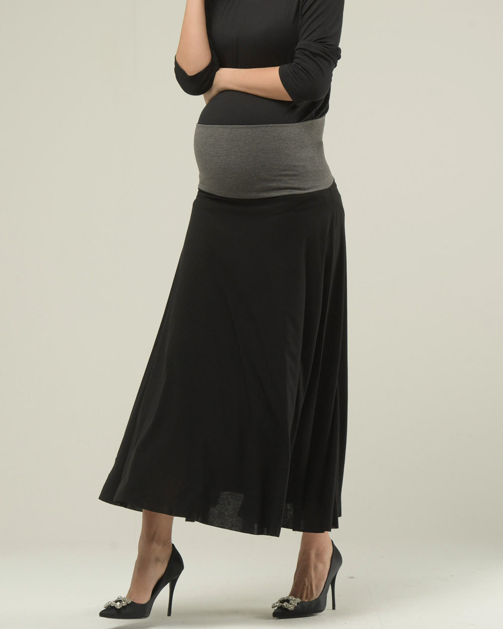 ESSENTIAL 2-WAY SOFT JERSEY SKIRT