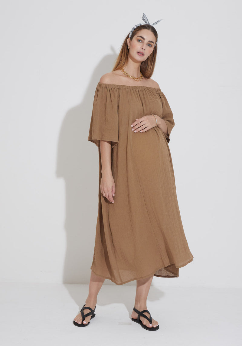 AIRY GAUZE DRESS