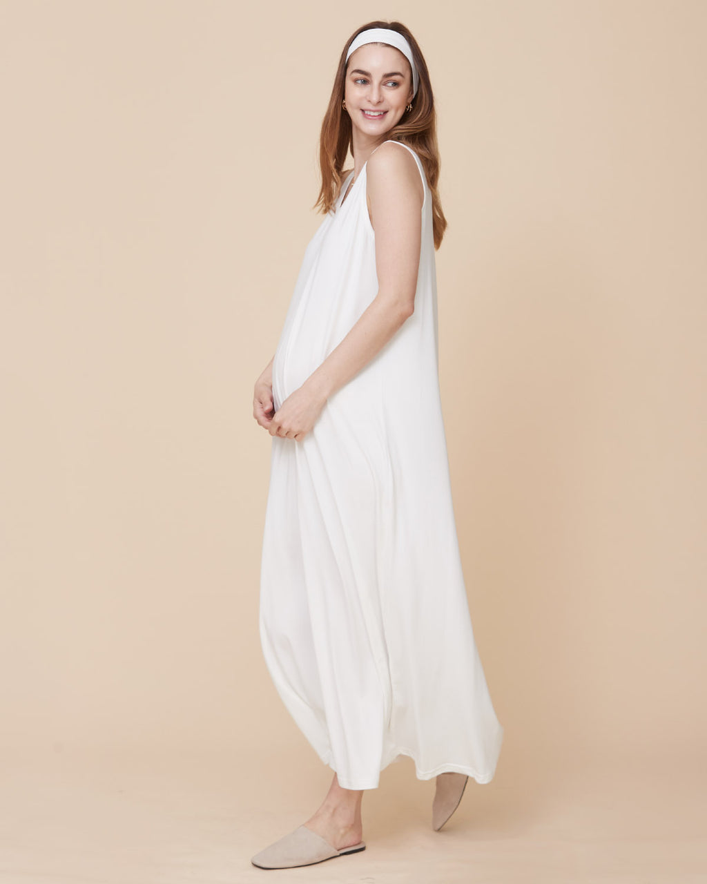 SUPER SOFT STRETCH DRESS & HEADBAND #2