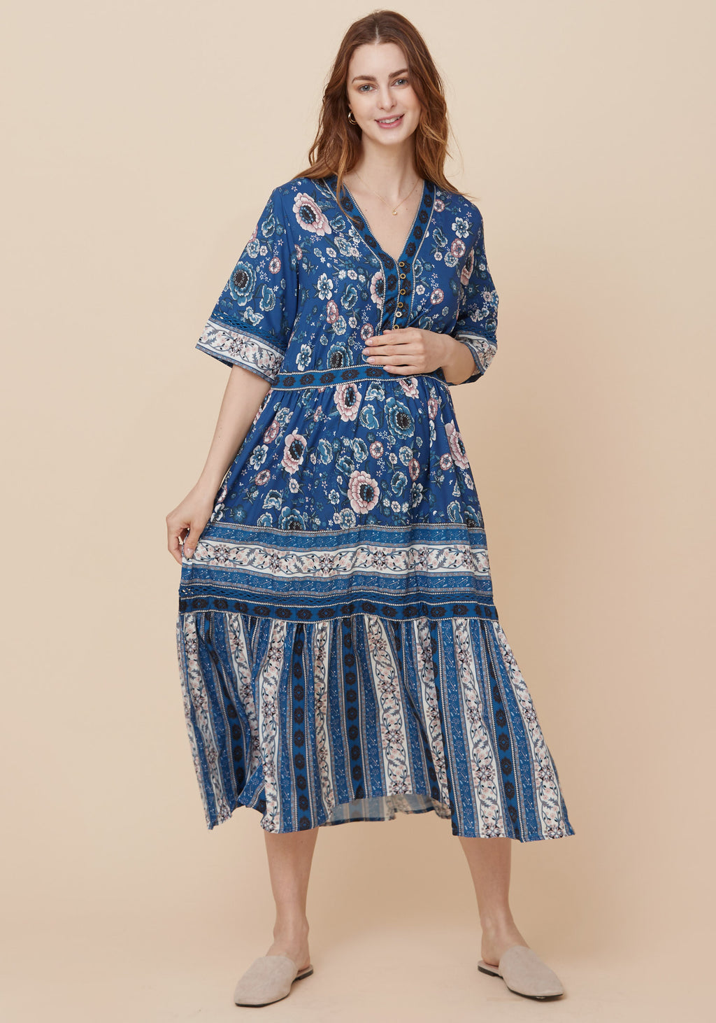 AERI CREPE DRESS