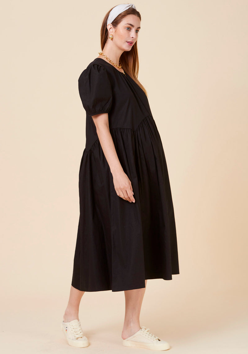 LIGHTWEIGHT POPLIN DRESS