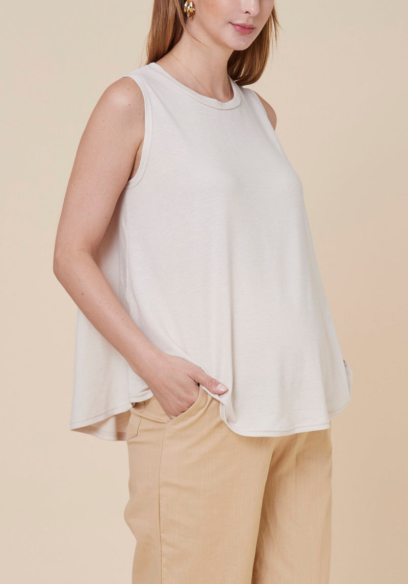 JERSEY TRAPEZE TOP