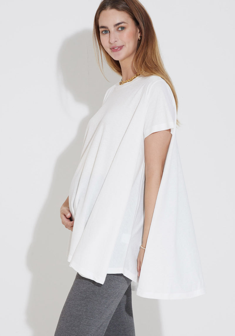 BAMBOO RELAXED TRAPEZE TEE
