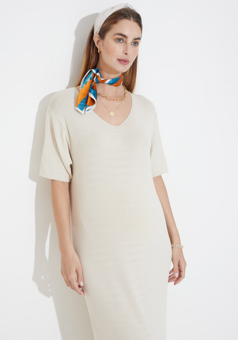 ESSENTIAL KNIT DRESS
