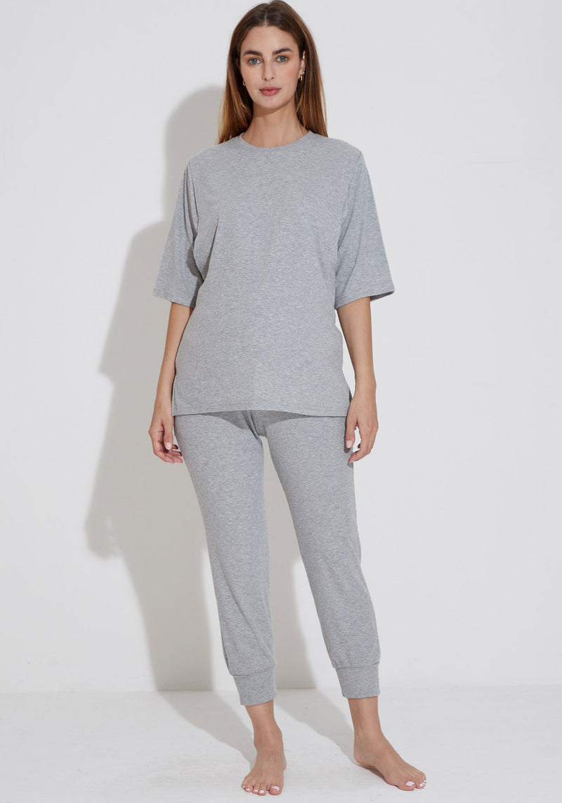 FINE RIBBED NURSING SET