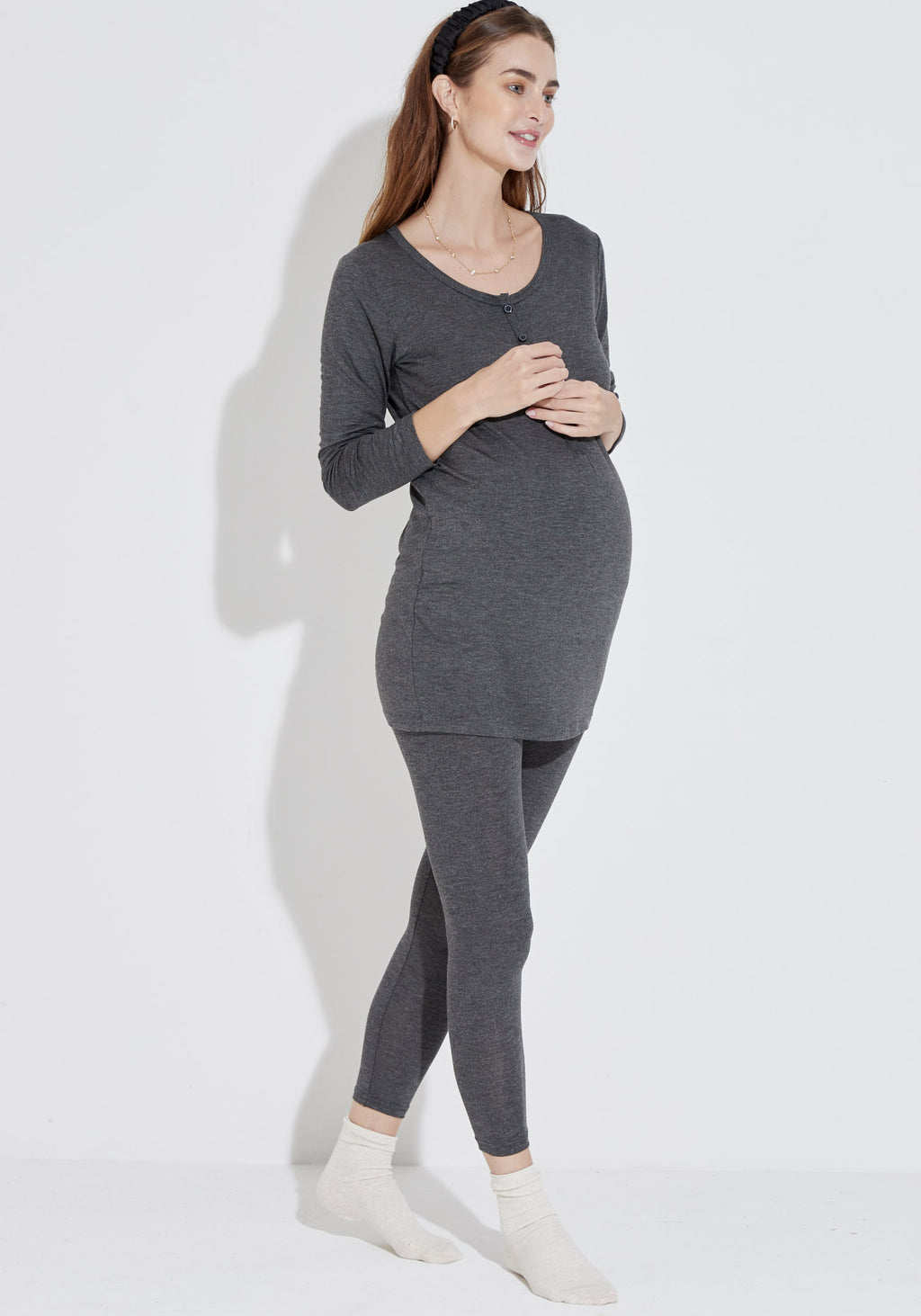 HOUSE NURSING TOP & LEGGINGS SET