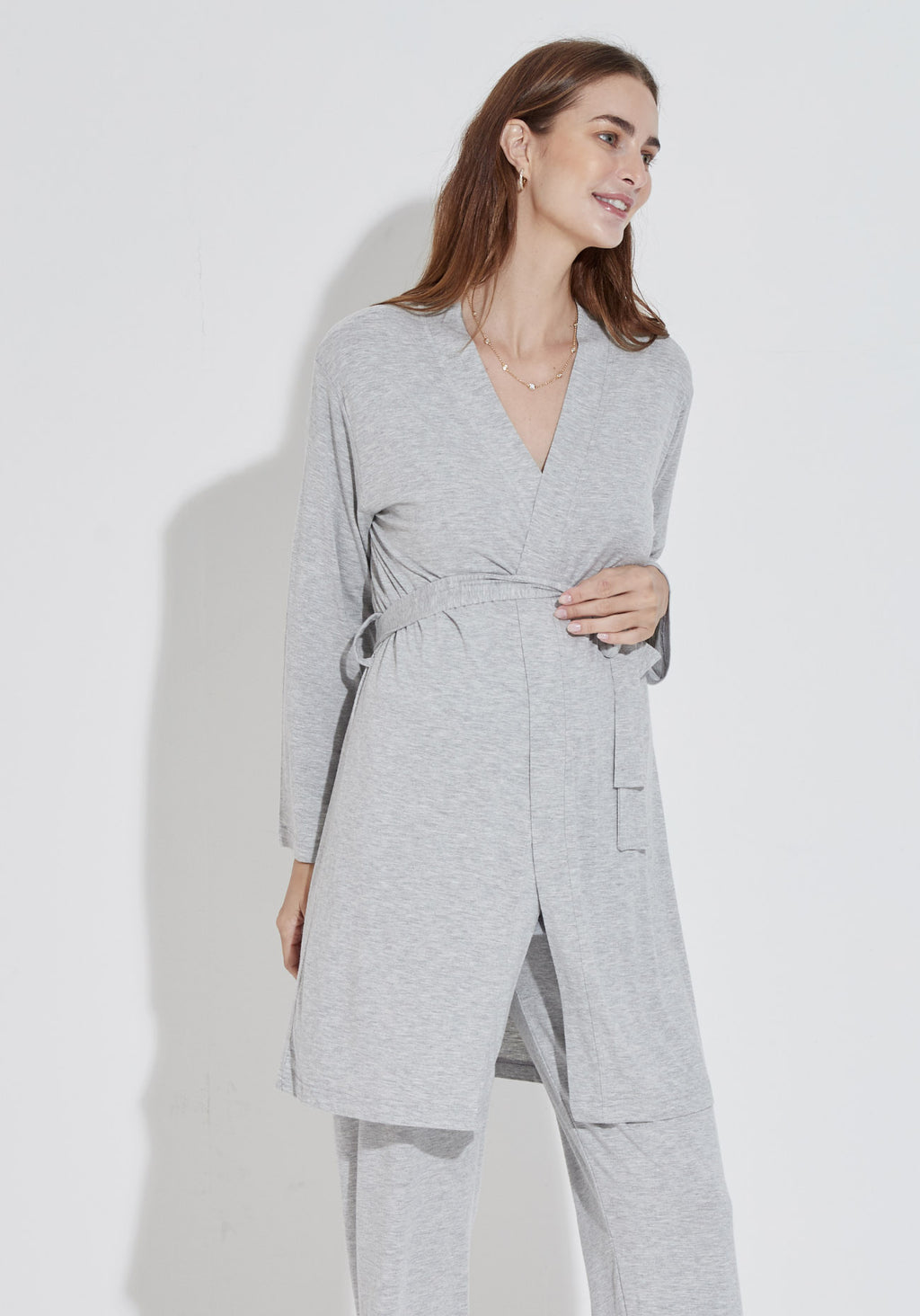 BAMBOO HOSPITAL ROBE & PANTS SET