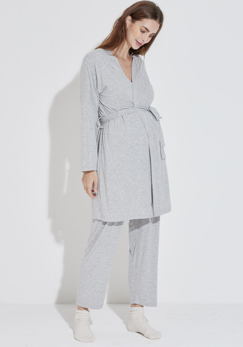 BAMBOO SOFT HOSPITAL PJ SET