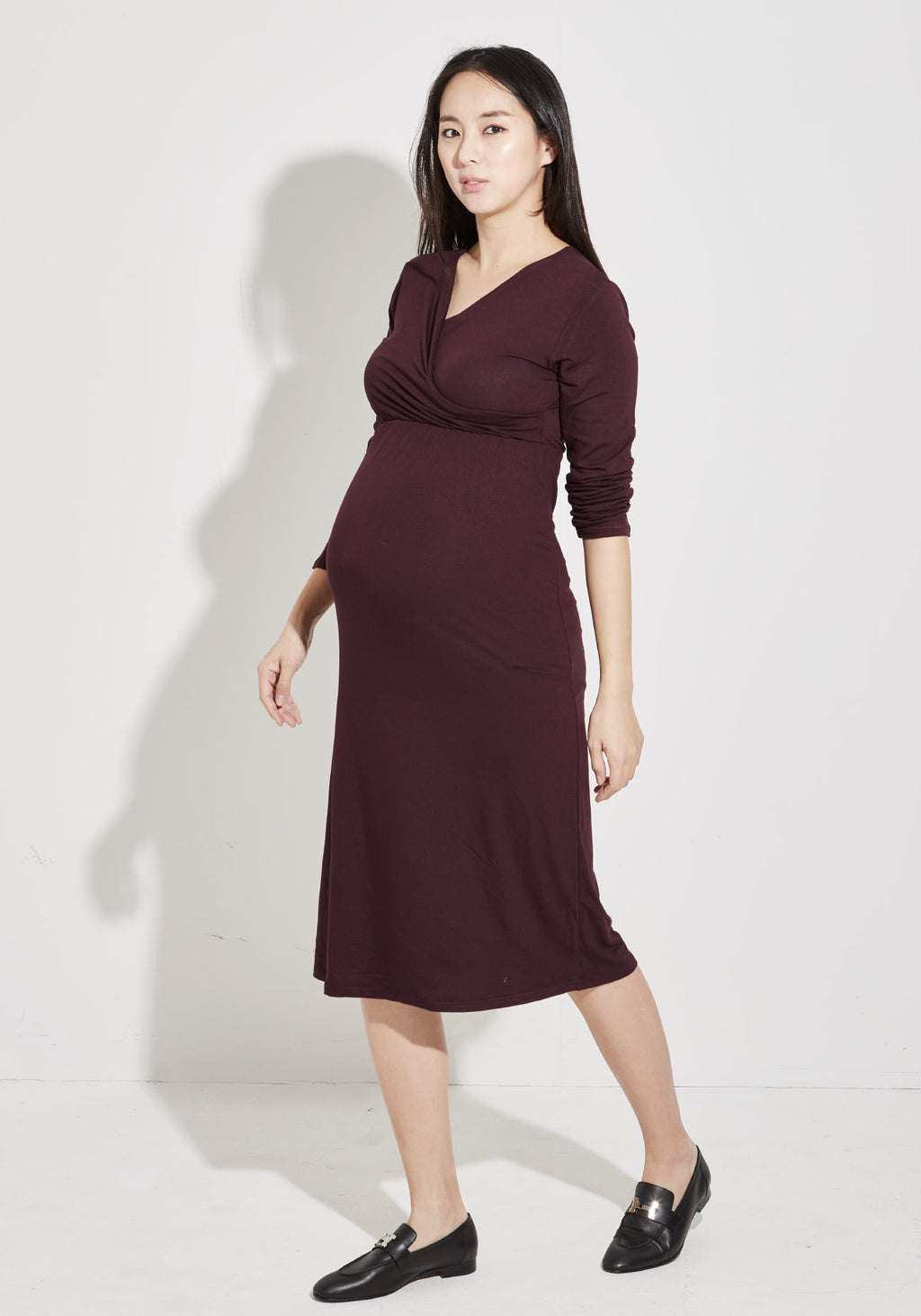 PUDDING NURSING JERSEY DRESS