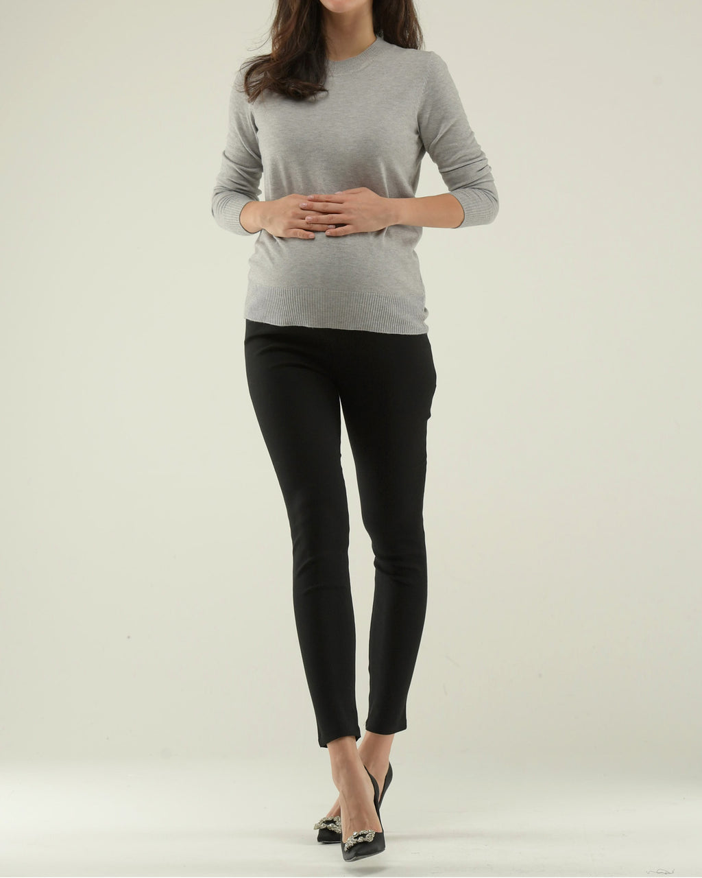 HIGH ELASTICITY STRAIGHT PANTS
