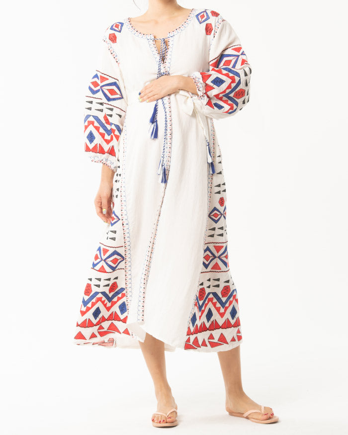 VYSHYVANKA ROBE DRESS