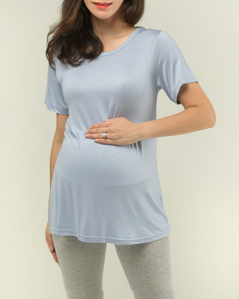 PERFECT FIT RAYON T-SHIRT