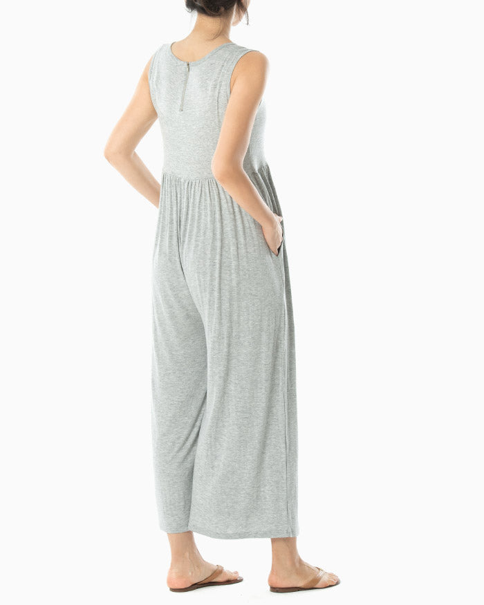 LIGHTWEIGHT JERSEY JUMPSUIT