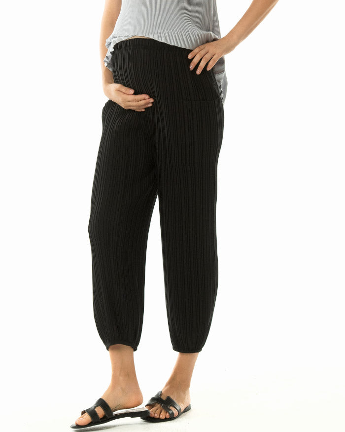 PLEATED EASY PANTS