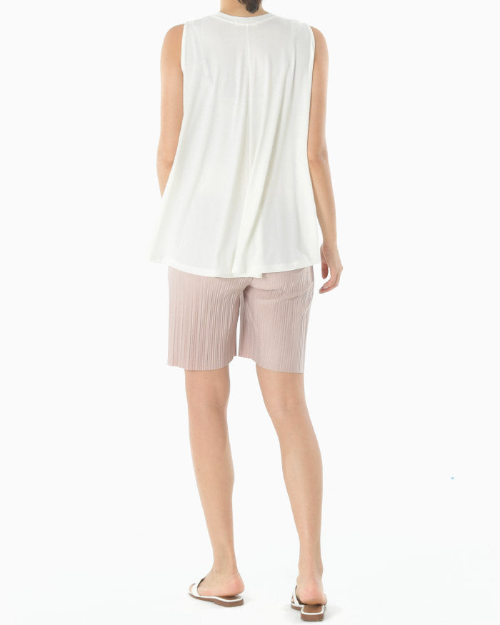SOFT PLEATED SHORTS