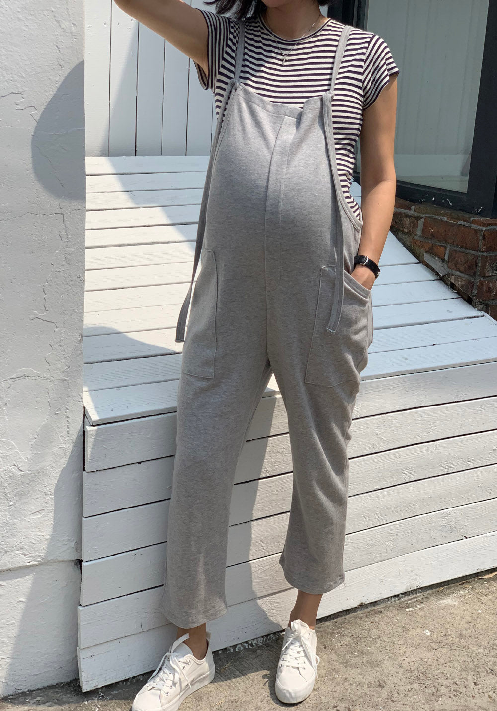 TERRY SWEAT JUMPSUIT