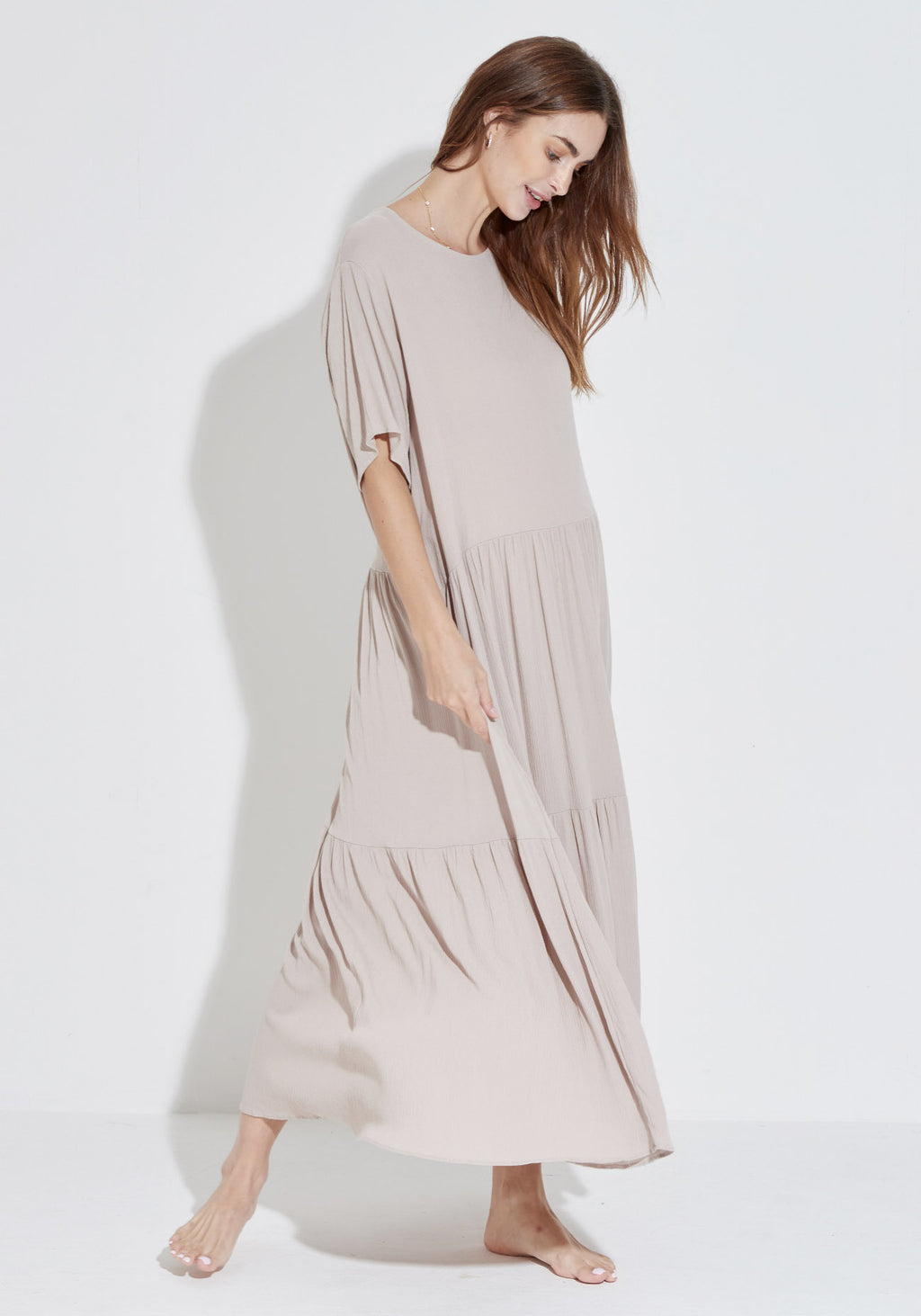 RELAXED GAUZE DRESS