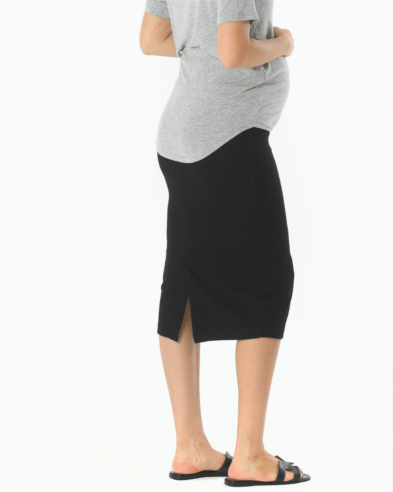 PUDDING JERSEY PENCIL SKIRT