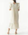 FRILLED GAUZE DRESS