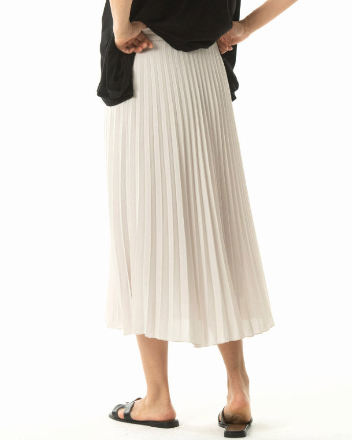 [EDITOR'S PICK] PLEATED CHIFFON SKIRT