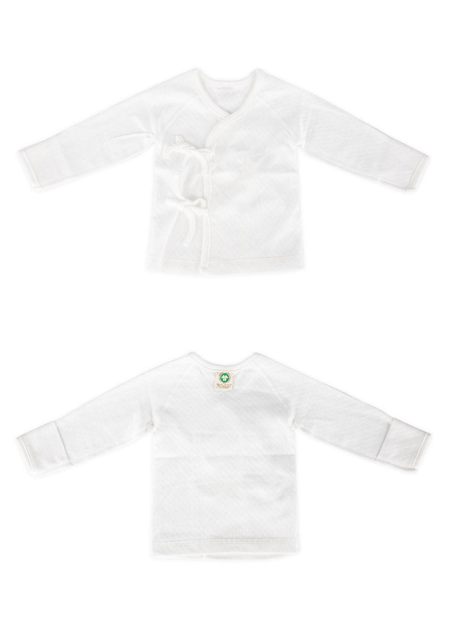 ORGANIC COTTON NEWBORN ROBE