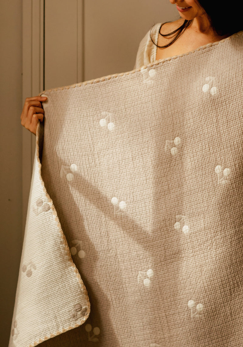 EMBOSSED DOUBLE SIDE BLANKET