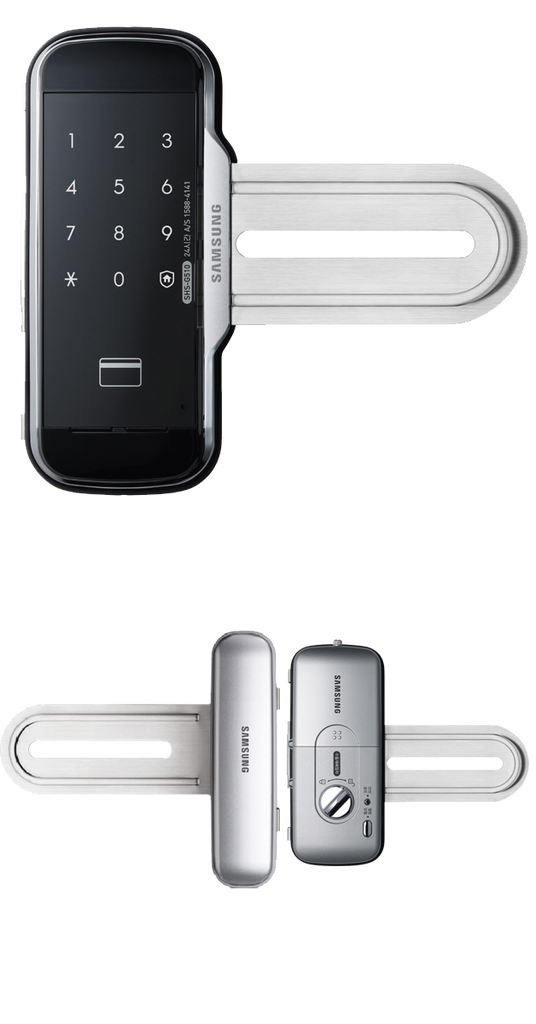 Samsung Digital Lock SHS-G517 front and back view