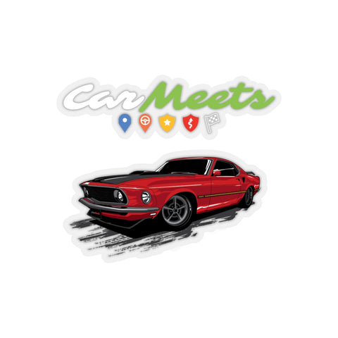 CarMeets Ford Mustang Mach1 Sticker