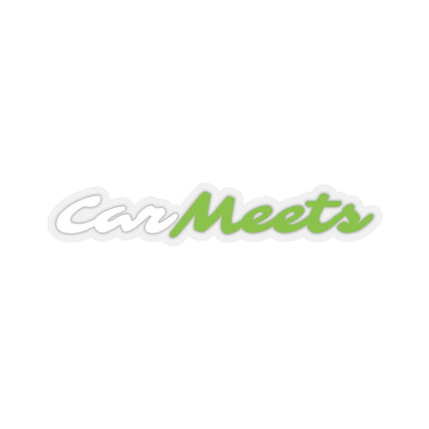 CarMeet Logo Stickers
