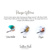 Elemental Collection - Beautiful and Affordable Handmade Calligraphy Pens