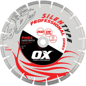 OX PROFESSIONAL PHB BENCH SAW DIAMOND BLADE - HARD