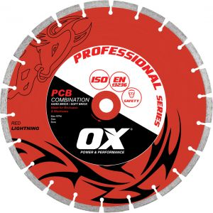 OX PROFESSIONAL PCBS SILENT DIAMOND BLADE - 50/50 COMBINATION