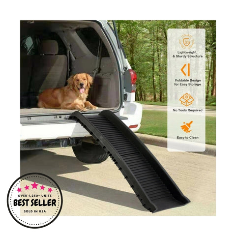 ChewPets Bi-Foldable Anti-slip Dog Ramp
