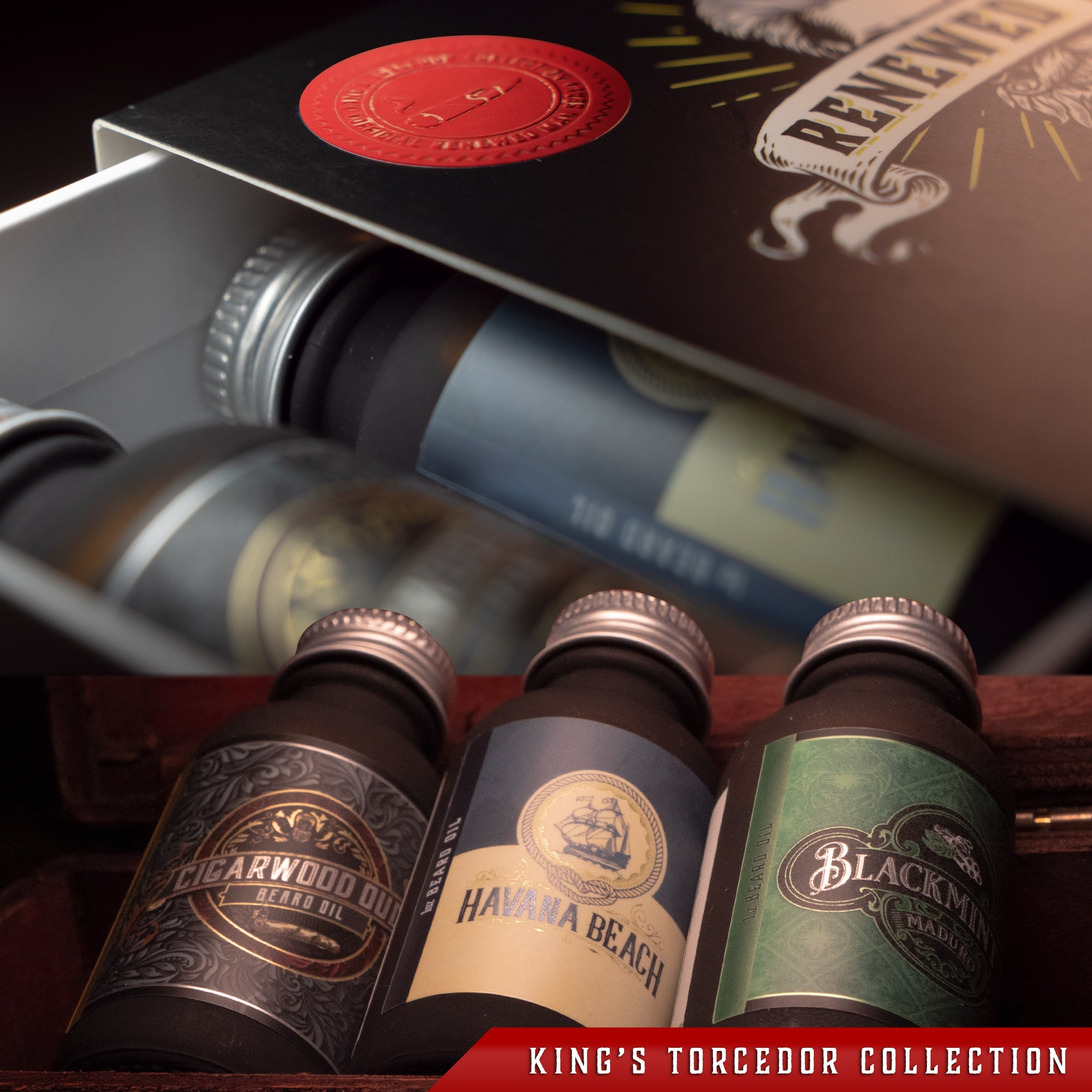 Triple Oil - King's Torcedor Collection - Box with Limited Official Seal