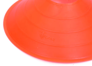 "Cintz 2"" Orange Field Cone Markers, Set of 20, with a carry strap"