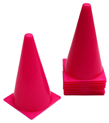 "Cintz 9"" Cones - Set of 10 - Pink Color"
