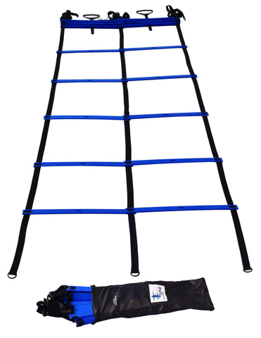 Cintz Dual Agility Ladder with Free Bag, includes ground stakes