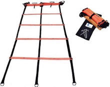 Load image into Gallery viewer, Cintz Dual Agility Ladder with Free Bag, includes ground stakes