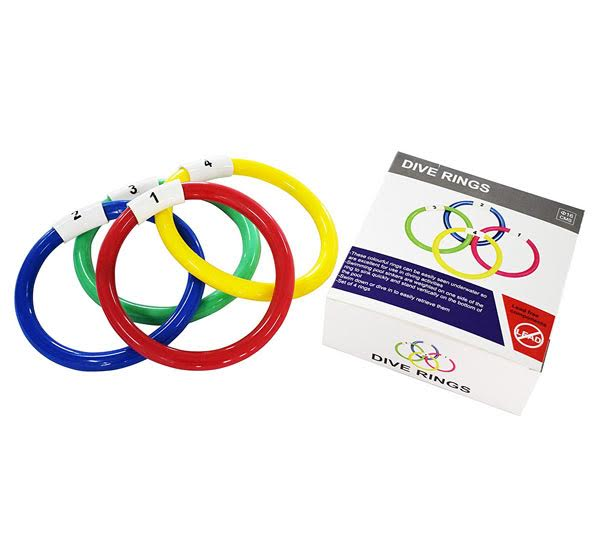 Cintz Diving Rings - Set of 4