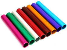 Load image into Gallery viewer, Cintz Aluminium Relay Batons, set of 8, Assorted colors