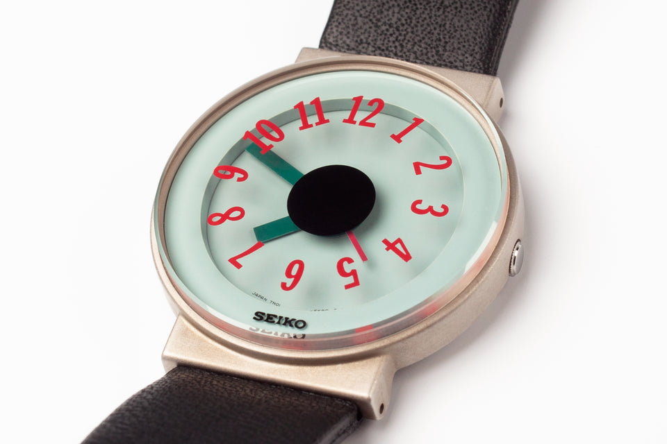 Seiko Sottsass first edition three hander wristwatch made in Japan.