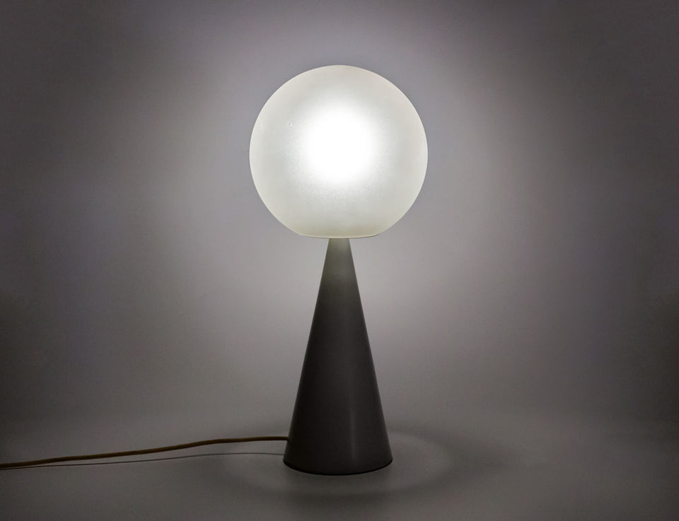 Table lamp Bilia designed in 1931 by Gio Ponti (1891-1979) and manufactured by Fontana Arte in 1967, Italy.