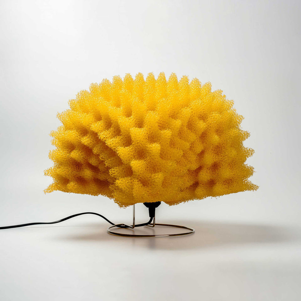 Yellow Foam Lamps By MASAYO AVE for ANTONANGELI ILLUMINAZIONE, Italy, 1990s