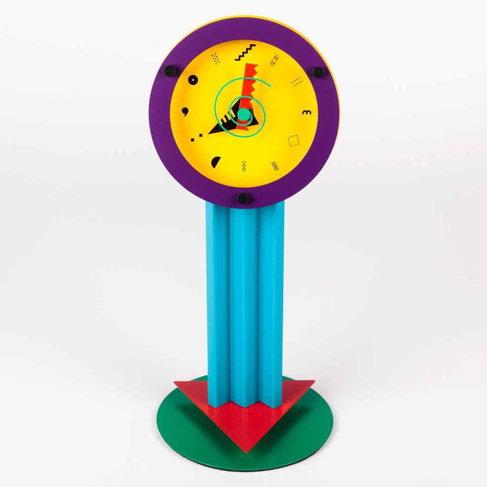 "Desk Clock ""Paradise"" by SHOHEI MIHARA for WAKITA, Japan, 1980S"