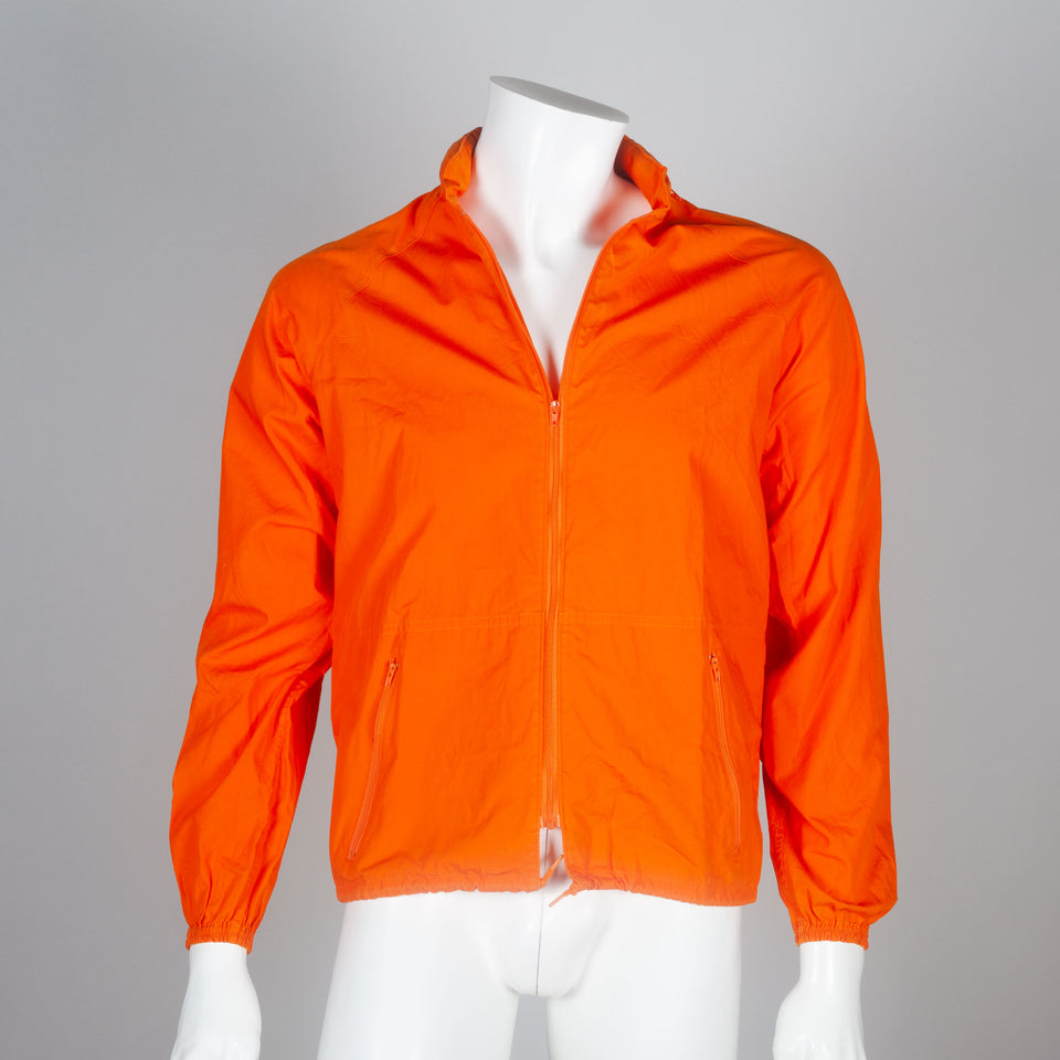 Junya Watanabe Comme des Garçons 2001 poem coat from Japan in bright orange.