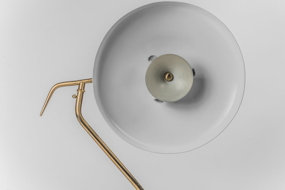 Italian Lamp by OSCAR TORLASCO for LUMI, 1950s